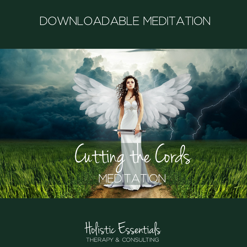 Downloadable Meditation Cutting the cords